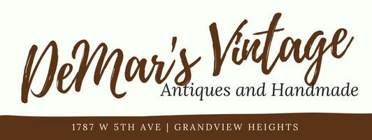 Welcome To Demar's Vintage on West Fifth Ave in Grandview